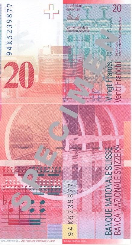 20 франків